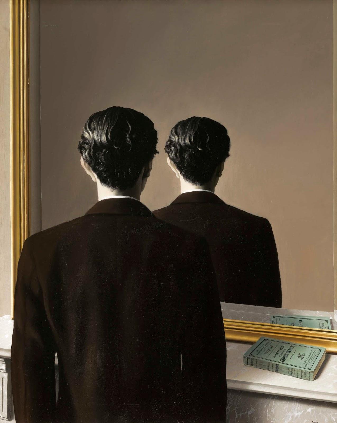 Oh Arabia Felix: Un hombre frente al espejo