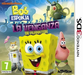 Rom SpongeBob SquarePants Plankton's Robotic Revenge 3DS