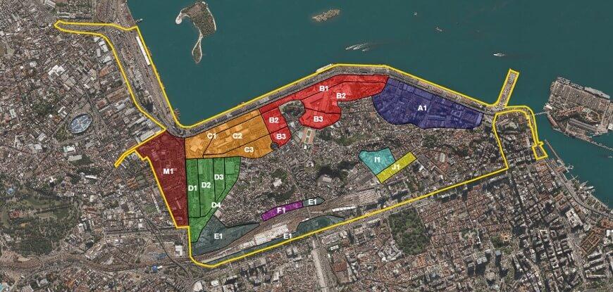 Figura 03 - Mapa faixas de equivalência Porto Maravilha