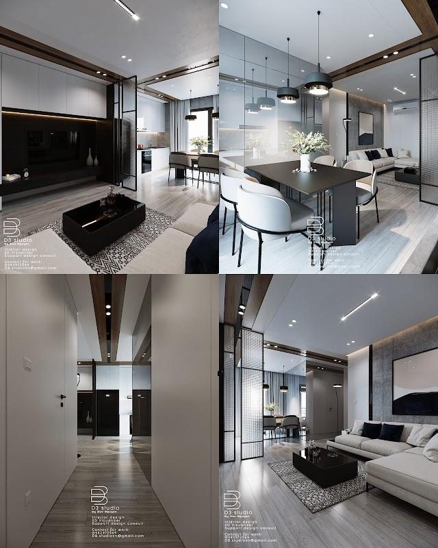 3D Interior Scenes File 3dsmax Model Livingroom