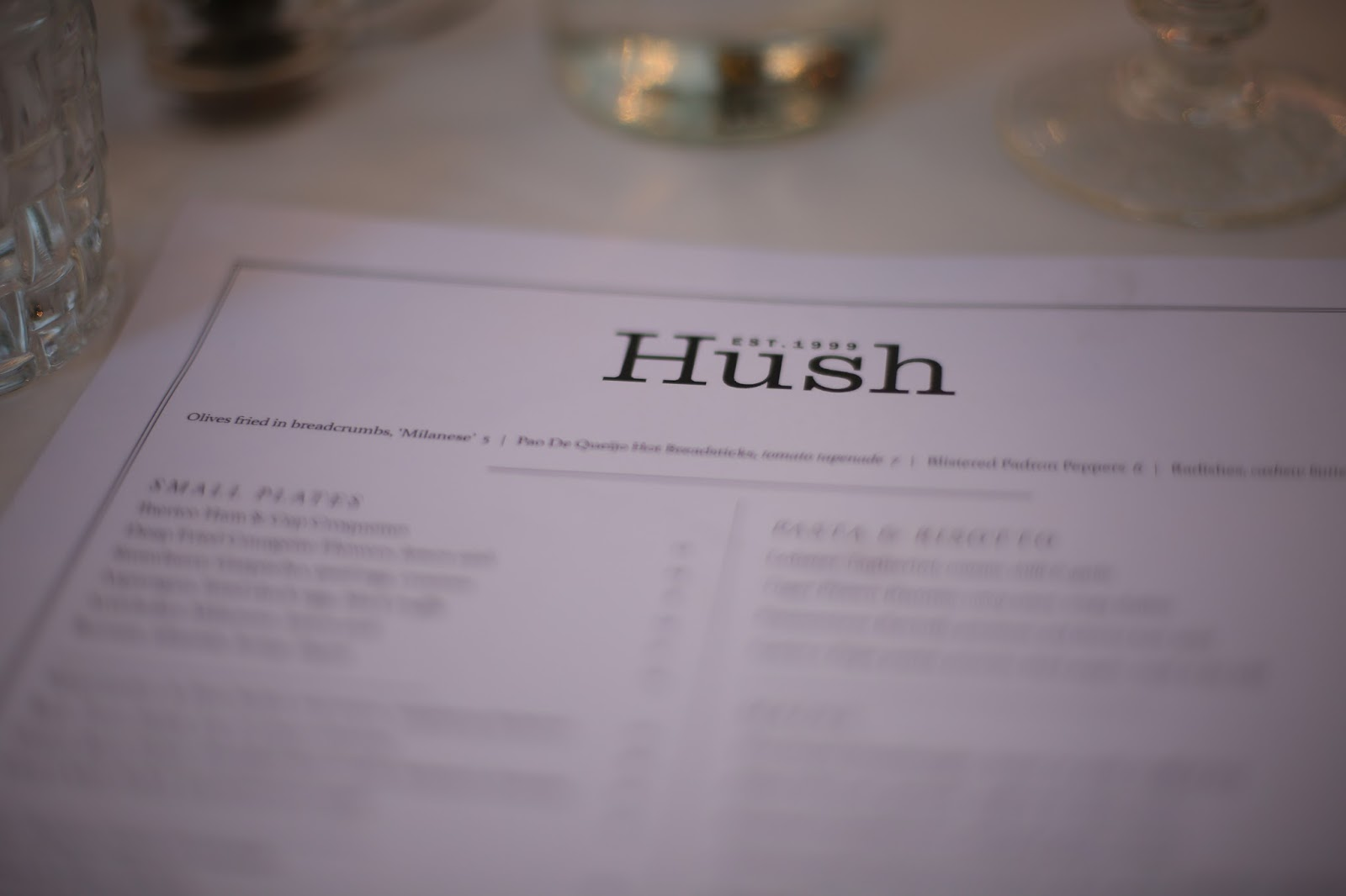 hush mayfair