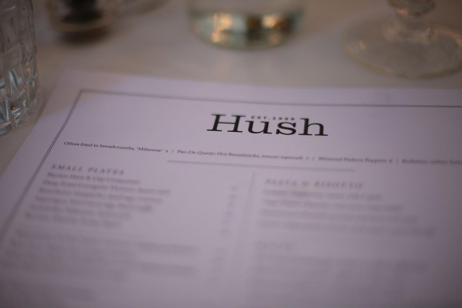 hush mayfair