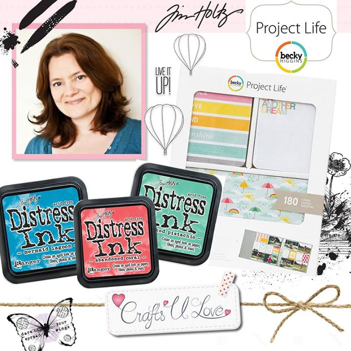 Crafts U Love promo photo for Kim Dellow's Demo 9th July 2015
