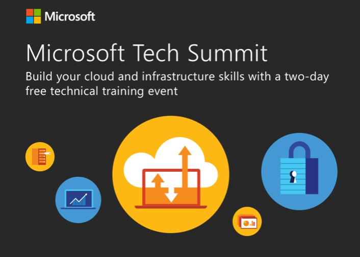 Exchange Anywhere: Get ready for Microsoft Tech Summit 2016-17