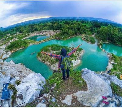 Telaga Biru Gunung Kidul jogja