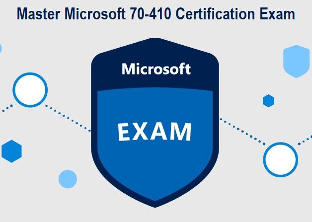 Microsoft 70-410 Exam