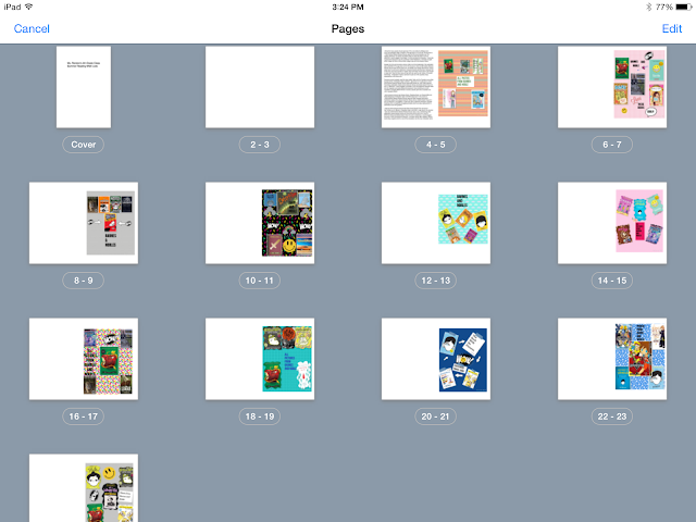 Student Created Summer Reading Book Creator Part 2