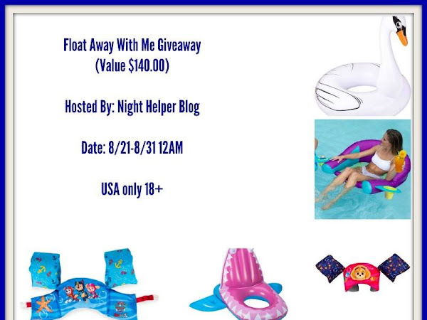 Float Away With Me #Giveaway