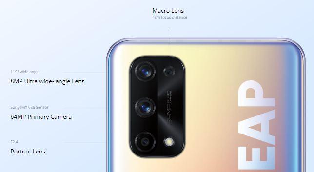 realme x7 pro 5g camera
