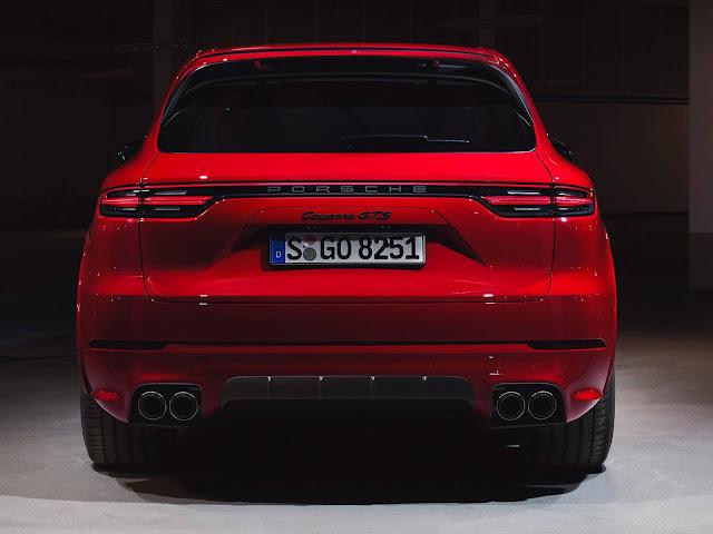 Novo Porsche Cayenne GTS 2021