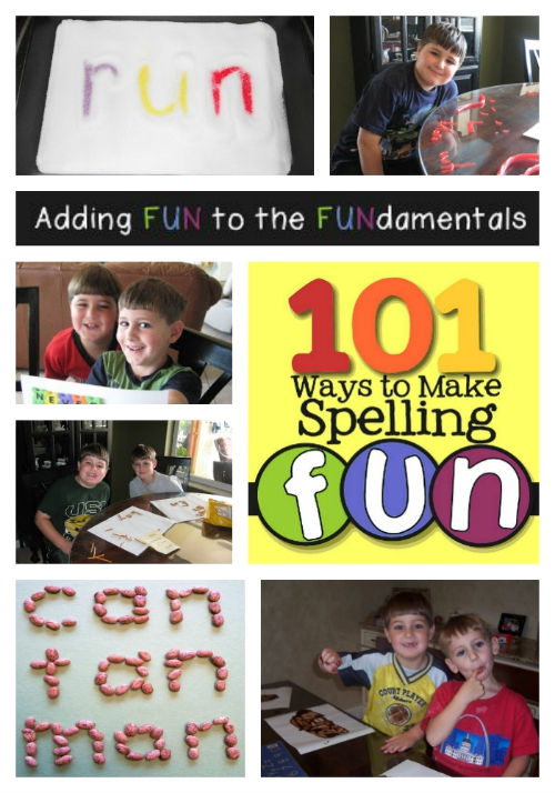 Fun Elementary Spelling Tips