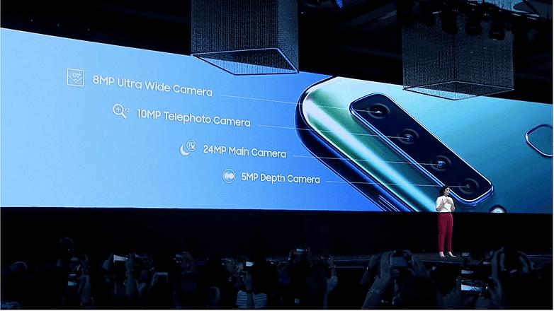 Samsung Galaxy A9 dengan quad camera dan 8GB RAM !