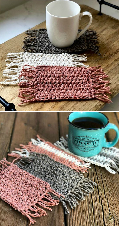 Stay Home Mug Rug - Free Pattern
