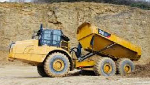 Dump Truck articulated