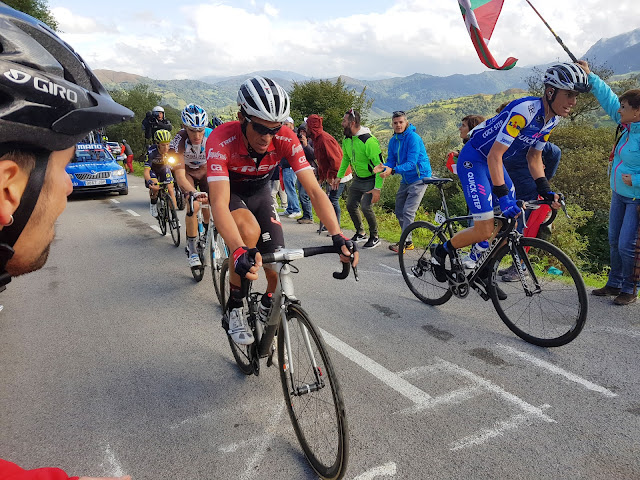 Contador on the Angliru seen by Cycling Country Bike Tours
