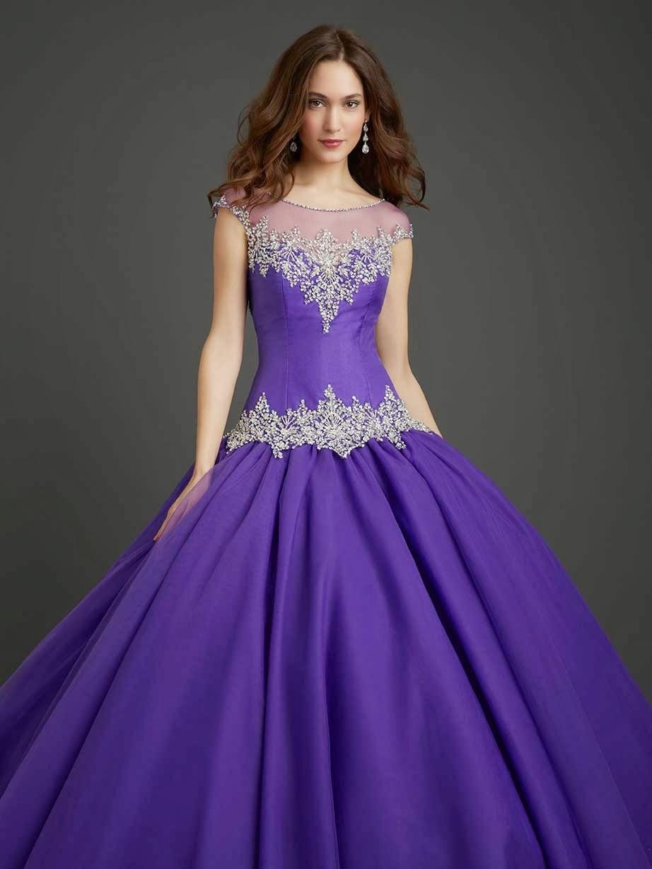 Asombrosos vestidos de 15 a os modernos moda 2014 Adornos 15 anos modernos
