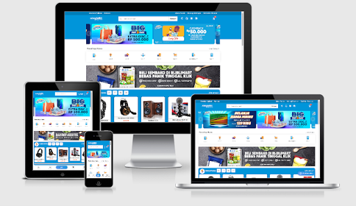 SimpleBli Ecommerce Blogger Template Free Download