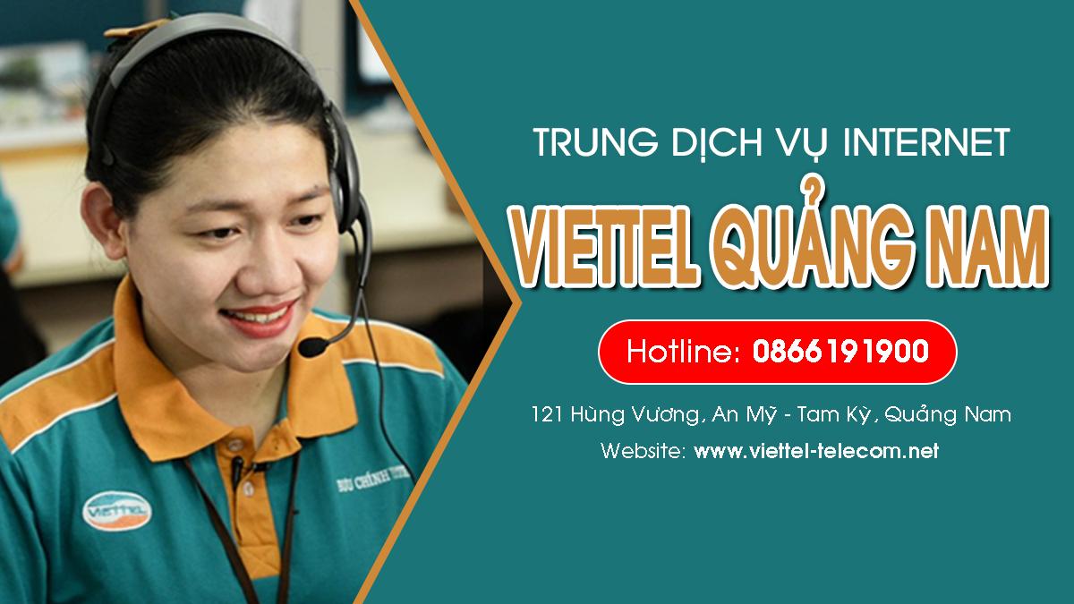 Viettel Quảng Nam - Đơn vị lắp mạng Internet và Truyền hình ViettelTV