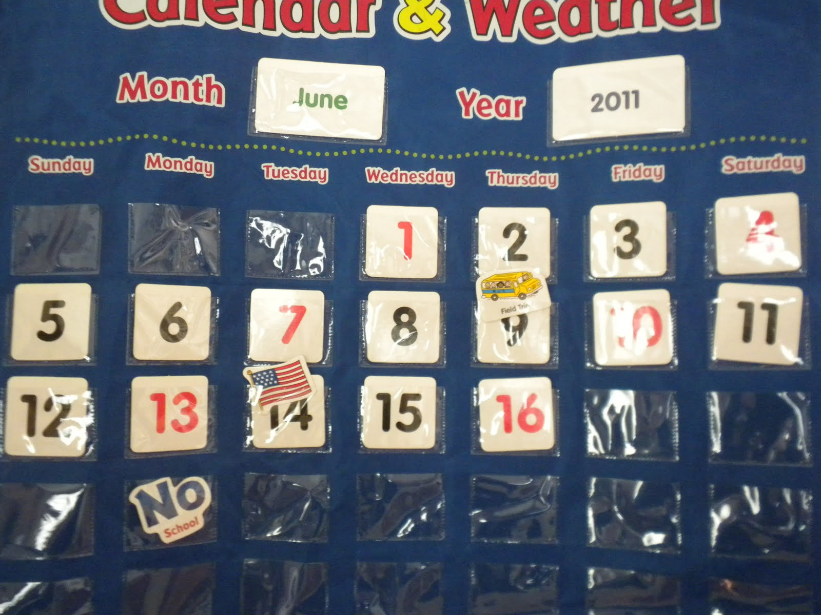 Make Early Learning Fun!: Calendar Play: What Day Is It?