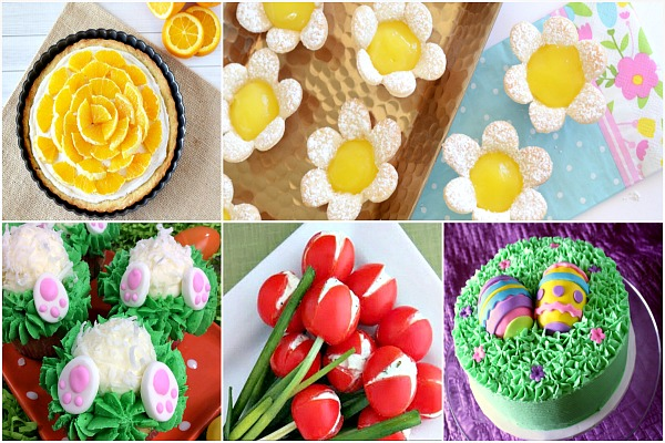 Delicious Dishes Spring Recipes featured on Walking on Sunshine