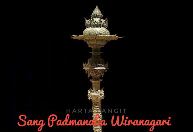 gambar tombak pataka sang padmanaba wiranagari