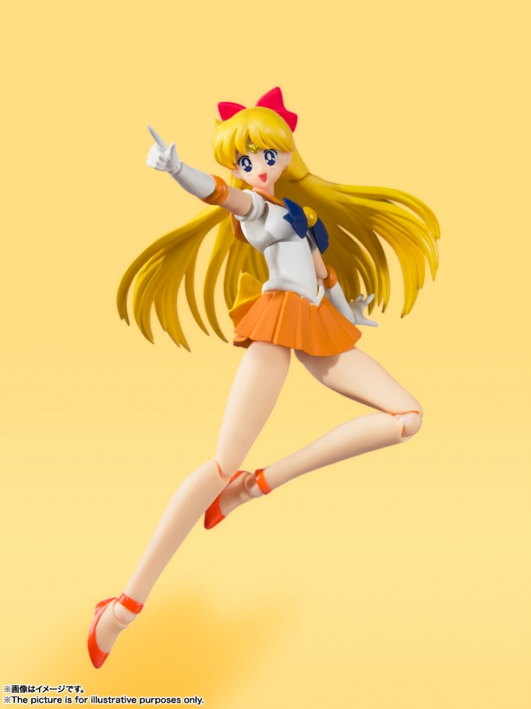 S.H.Figuarts Sailor Venus -Animation Color Edition- de Sailor Moon - Tamashii Nations