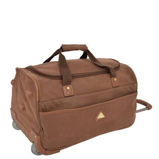 Mens Leather holdall