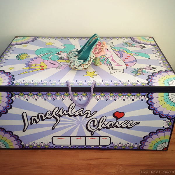 irregular choice mermaid storage chest large comparison