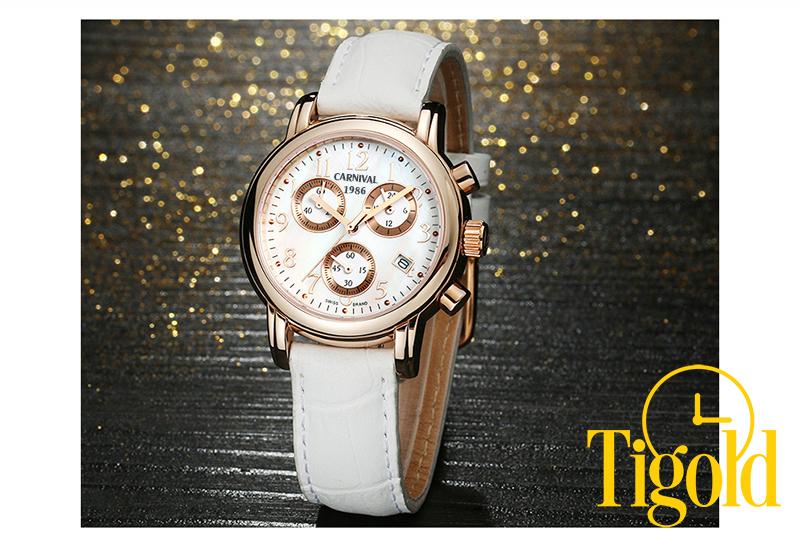 đồng hồ nữ carnival đẹp