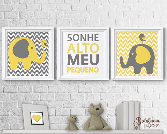 pôster, posteres, posters, print, printable, elefante, quadro, infantil, quarto, decoração, maternidade, quadrinhos, arte, digital, kit