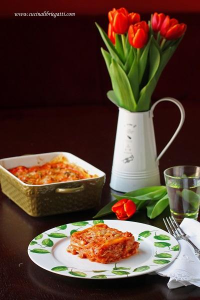 lasagne ragù salsiccia porri ricetta