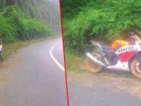 Motor ini Terparkir Ditepi Jalan Selama 2 Tahun Karena Sang Pemilik Mengalami Kecelakaan