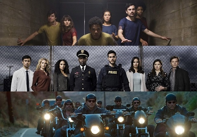 le migliori serie tv del 2016 su netflix e non solo, containment serie tv, 3% serie tv netflix, sons of anarchy