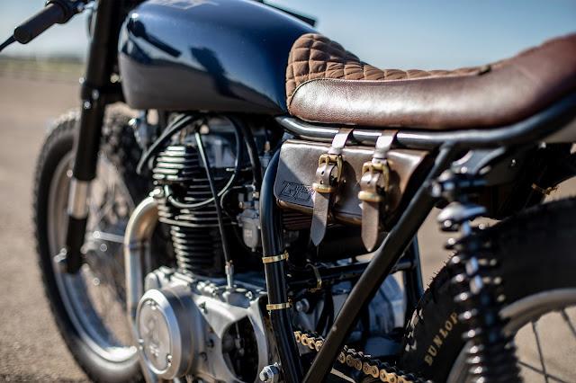 Honda CB360 By Old Empire Motorcycles Hell Kustom