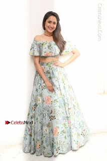 Actress Pragya Jaiswal Stills in Floral Dress at turodu Interview  0200.JPG