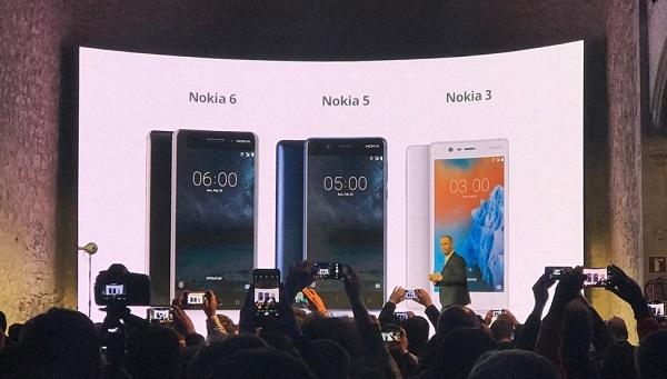 NOKIA 3 - NOKIA 5 - NOKIA 6 OFICIAL