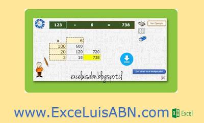 Multiplicación ABN v1.6
