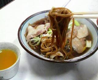 肉そば(韃靼そば)
