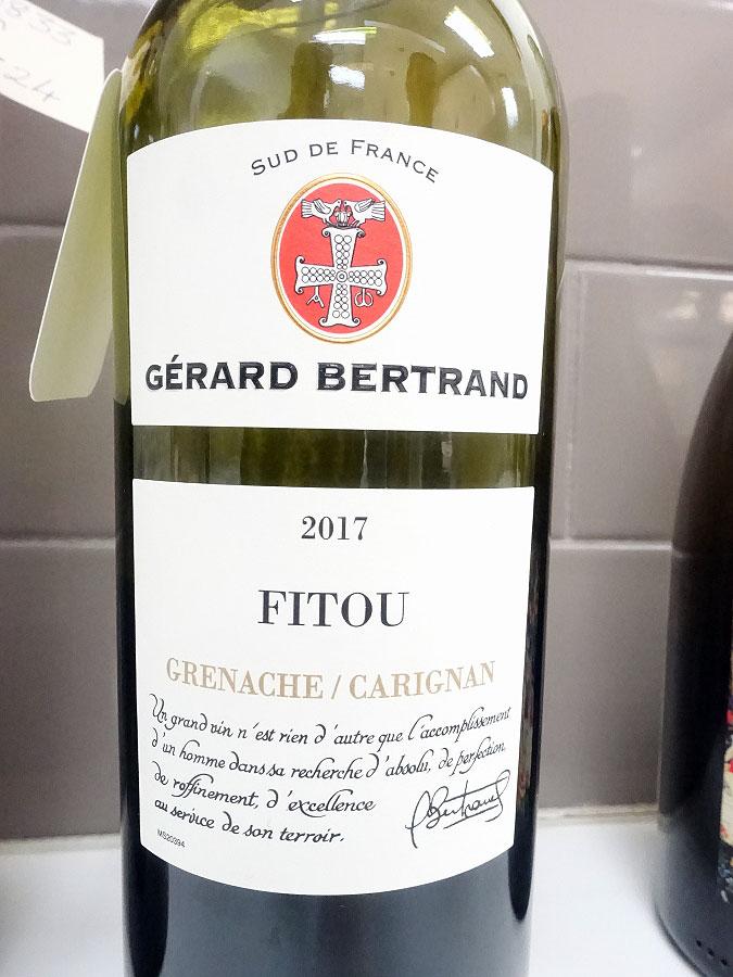 Gérard Bertrand Fitou Grenache/Carignan 2017 (88 pts)