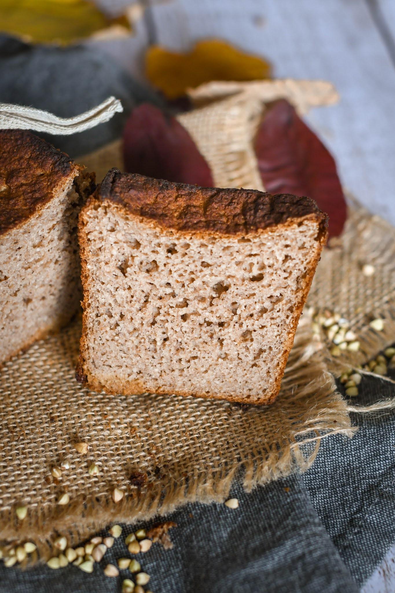 Pain Sans Gluten à La Farine De Châtaigne Et Riz Rosenoisettes