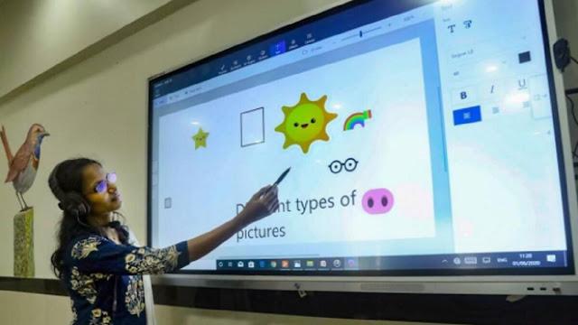 सभी क्लासरूम को हाई-टेक क्लासरूम बनाने वाला  पहला राज्य केरल