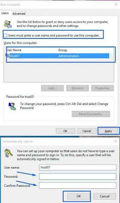 كيفية إلغاء باسوورد الكمبيوتر ويندوز 10