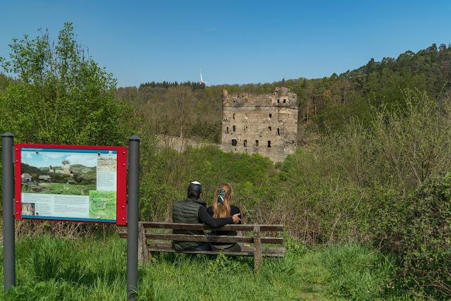 Saar-Hunsrück-Steig Etappe 20 Von Mörsdorf nach Kastellaun  Hängebrücke Geierlay Wandern im Hunsrück Traumschleifen-Hunsrück 05