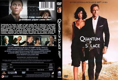 James Bond 007 Quantum Of Solace 2008 Movie Cover