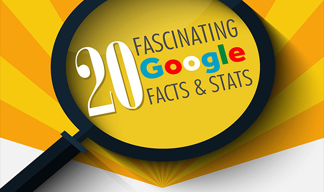 20 Fascinating facts & statistics from Google #infographic