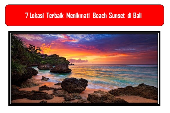 Beach Sunset di Bali