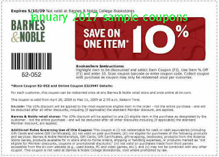 Barnes and Noble Coupons