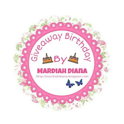 Giveaway Birthday Tuan Dan Blog Anugerah Terindah