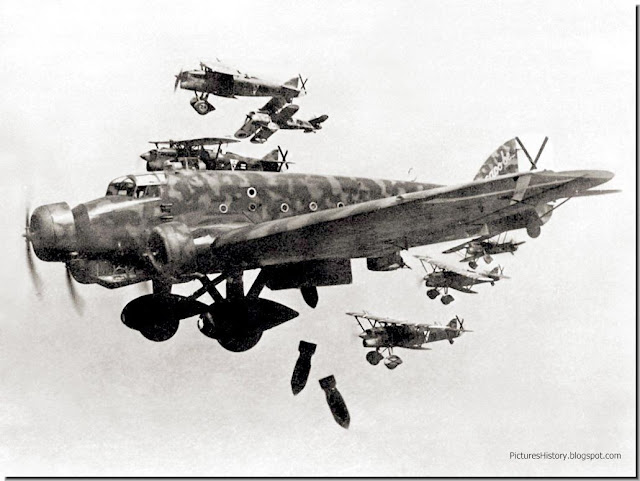 Italian bombers Spanish civil war