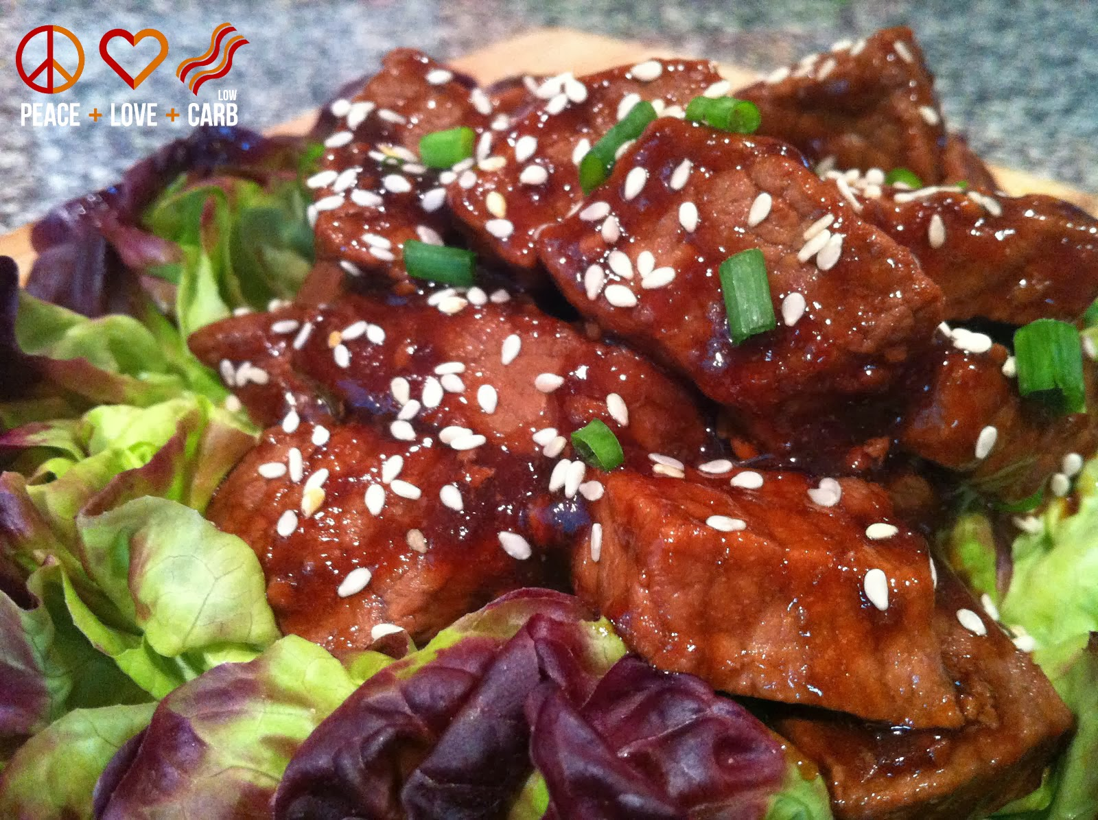 Low Carb Teriyaki Beef Tips | Peace Love and Low Carb